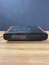 Sony Dream Machine ICF-C420 Dual Alarm Clock Radio Dream Bar Snooze Sleep Tested