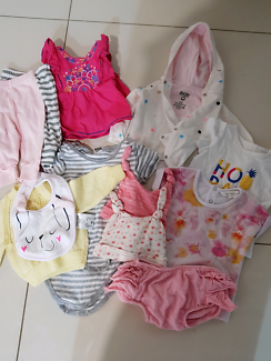 000 Baby Girl Clothes Bundle