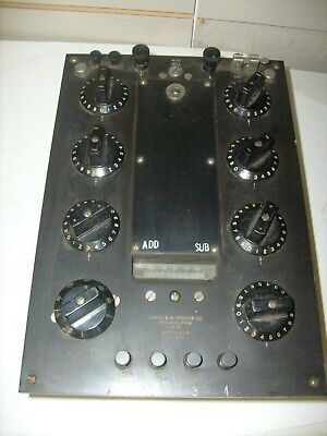 Vintage Leeds Northrup - Voltage Test Set Untested