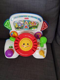 Fisher Price driving musical toy