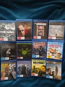 Blu-Ray Movies Brand New Sealed $5 Each Bray Park Pine Rivers Area Preview