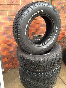 BfGoodrich T/A tyres 265/70 r17 Meadow Heights Hume Area Preview