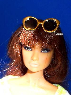 Fashion Royalty Jason Wu 1 6 Scale Gold Frame Sunglasses For Poppy Parker Barbie