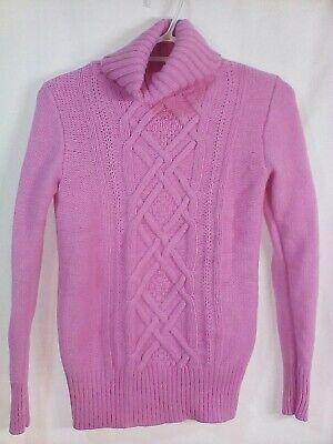 Women's J.Crew Turtleneck Wool Blend Sweater Extra Small XS Classic Knit