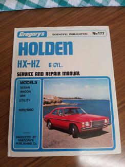 Holden HX-HZ workshop service manual Maylands Bayswater Area Preview