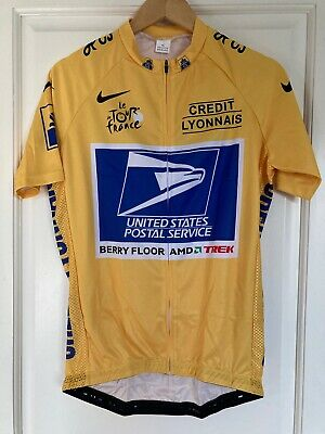 Maillot Cycliste Réplique POSTAL SERVICE Maillot Jaune Lance Armstrong XL 2000