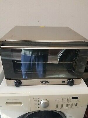 Working Cadco Unox Ov-350 Countertop Commercial Convection Oven Free Shipping