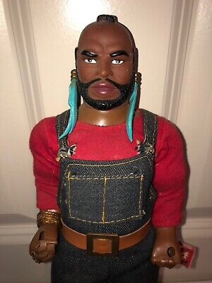 "Vintage Mr. T Galoob 1983 12"" A-Team B.A. Baracus Action Figure Doll"