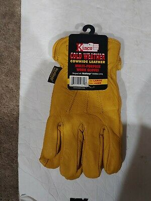 Kinco Cold Weather Cowhide Leather Multipourpose Work Gloves 198hk