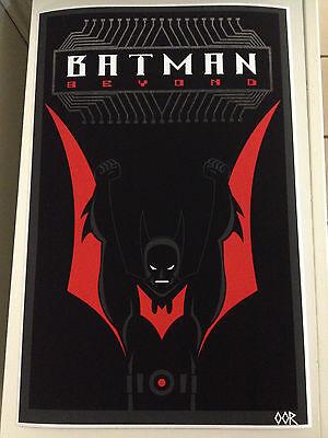Batman Beyond poster print](Batman Poster)