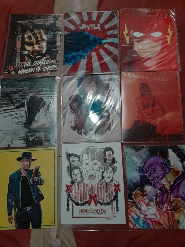 36 Art Prints Bundle