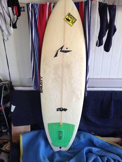 Rusty Hybrid surfboard