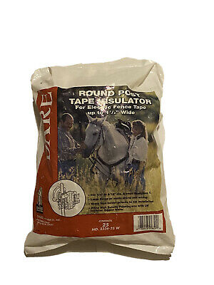 Dare Electric Fence Tape Insulator For Wood Posts Insulators