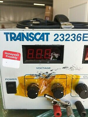 Transcat 23236e Regulated Dc Power Supply 0-32v 5amps