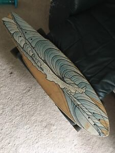 Globe longboard with quest wheels