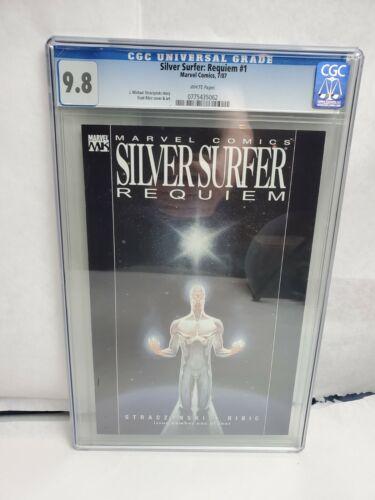 Silver Surfer: Requiem #1 CGC 9.8 NM/M Marvel Comics 2007