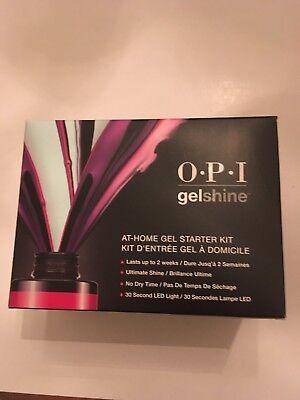 OPI Gelshine At-Home Gel Starter Kit with dryer