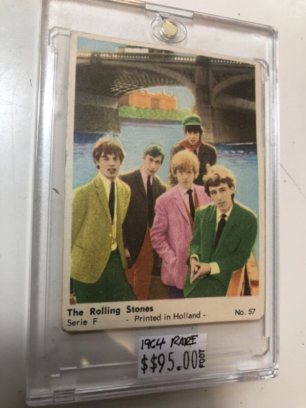 1964 Rolling Stones Rare Card from Holland