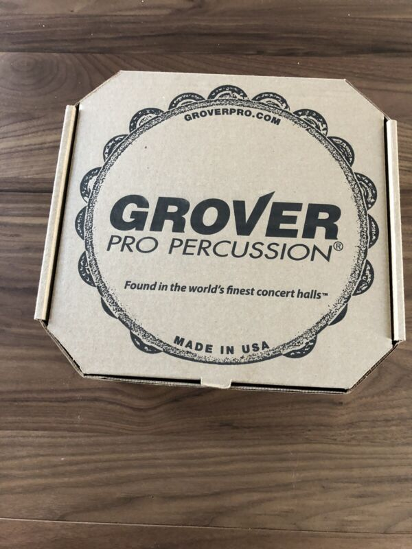 """Grover 10"""" Projection-Plus Double Row Tambourine - Bronze T2/PHBR - NEW IN BOX"""