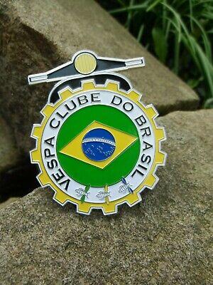 Rare - VESPA Club Brazil - Badge Scooter Clube Do Brasil