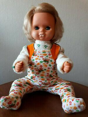 DDR Baby Puppe,ca. 64 cm groß, Plastik Schmollmund, Schlafaugen,Mamastimme fehlt online kaufen