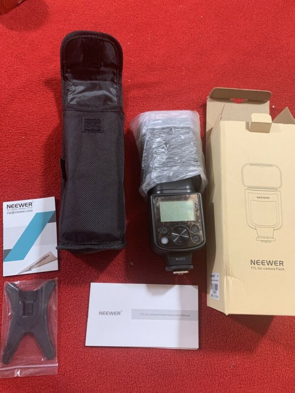 Neewer 750II TTL Speedlite Flash Kit for Nikon D7200 D7100 D7000 D5300 D5500