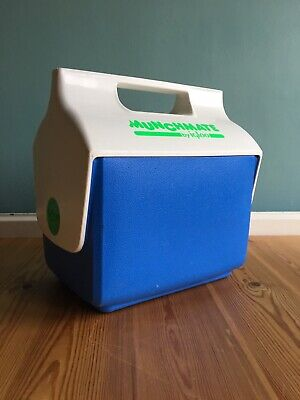 Vintage Igloo Munchmate Mini Cooler Personal Lunch Cool Box Ice Chest Picnic
