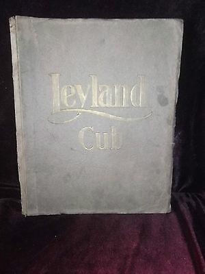 Vintage Leyland Cub Sectional Parts List