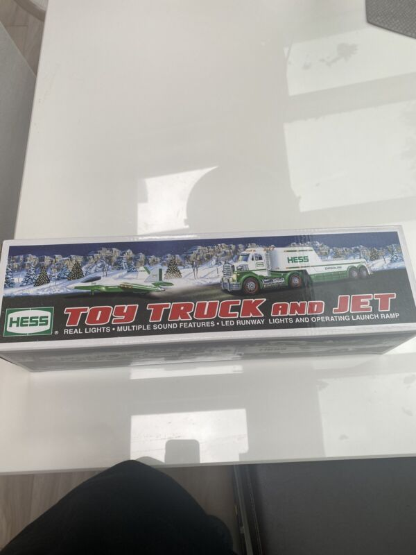 Hess 2010 Truck And Jet New In Box With All Cardboard & Plastic Covering