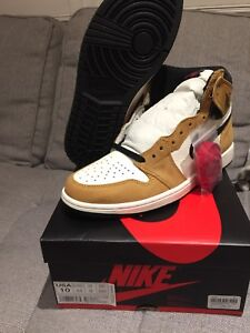 """AIR JORDAN 1 """"ROOKIE OF THE YEAR"""" DS - SIZE 10 US"""