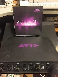 Pro tools 9 and AVID mbox3