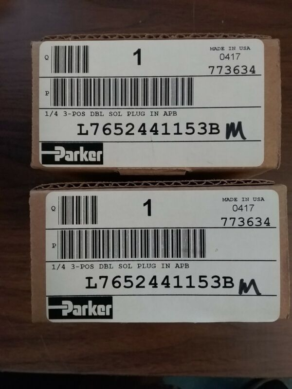 PARKER VALVAIR SPRINT SERIES SUBBASE MOUNTED VALVE L7652441153B