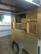 Food Trailer Kebab Trailer Food Truck Caravan Food Van Hadfield Moreland Area Preview