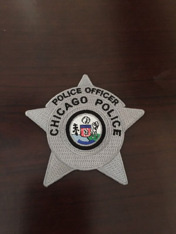 Chicago Police Officer Star Patch
