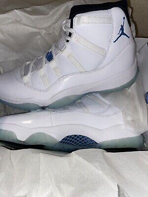 AIR JORDAN 11 RETRO LEGEND BLUE 2014 Size 10 Nike