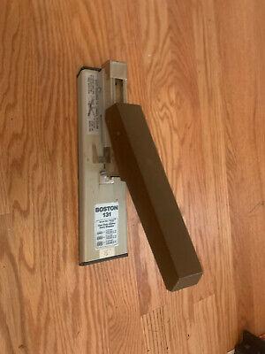 Vintage Boston Stapler Model 131 Heavy Duty Works