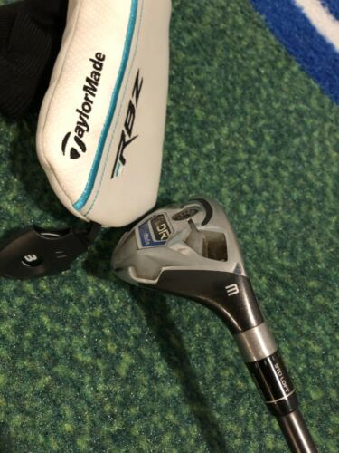 TaylorMade SLDR 3H hybrid with headcover