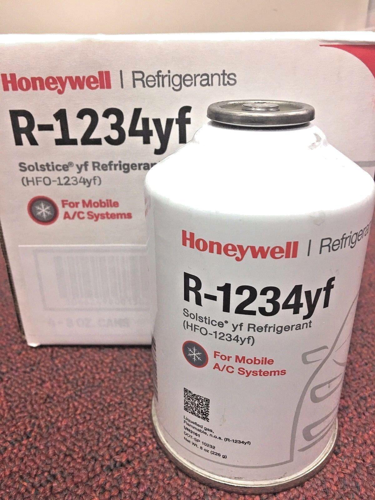 R1234YF 1234yf Refrigerant Honeywell 8 oz Solstice yf Refrigerant R1234yf
