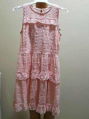Youth Girl Disney Princess Dress in Peach US Size 14/16[L] New with Tags - Disney Princess Dress Size 14