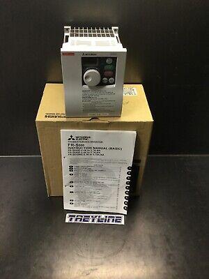 New Mitsubishi Fr-s540e-3.7k-na Compact Size Inverter Ac 380-480v 20l-2