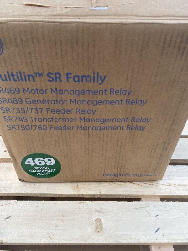 GE MULTILIN SR469 Motor Management Relay 469-P5-HI-A20-E