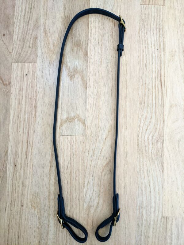 Bridle without Browband with Drop Noseband
