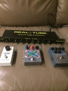 Guitar and Bass pedals/Rack Tube Driver