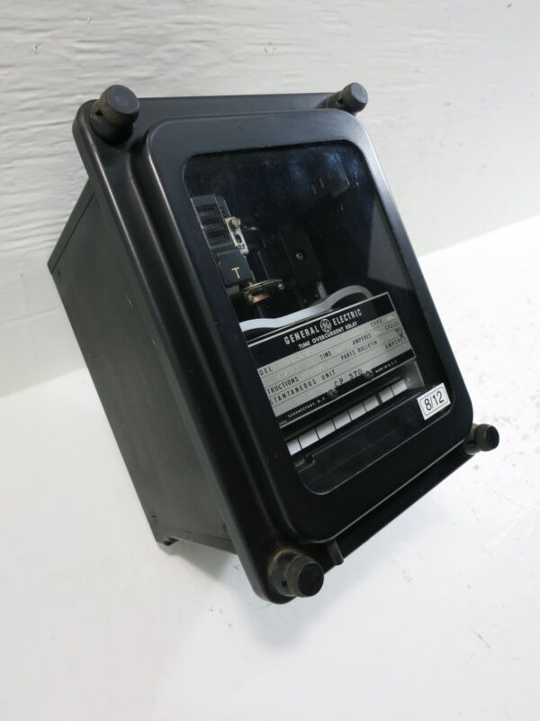 General Electric 12IAC51A1A Time Overcurrent Relay GE Inverse Time Type IAC