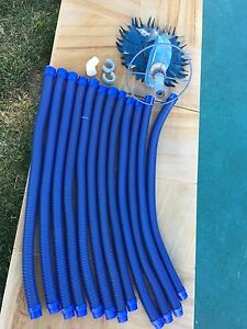 zodiac pool hoses x 11 and barracuda cleaner Robina Gold Coast South Preview