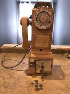 Antique payphone
