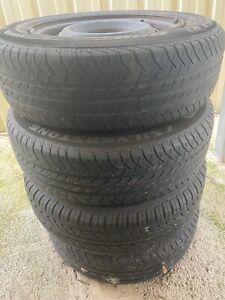 Toyota Starlet wheels x4 165/70/R13