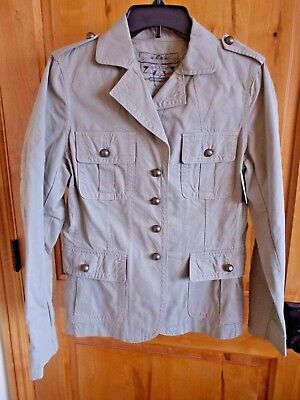 ARMY No 4 No 6 Officers WO Dress Jacket Safari Genuine British RAF Stone