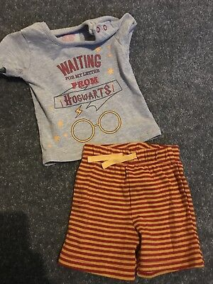 Baby Boys Harry Potter Outfit 0-3 Months