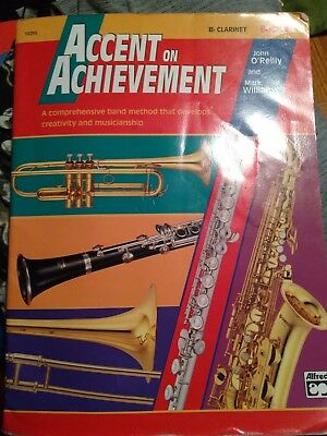 ACCENT ON ACHIEVEMENT BOOK B-FLAT CLARINET (Accent On Achievement Clarinet)